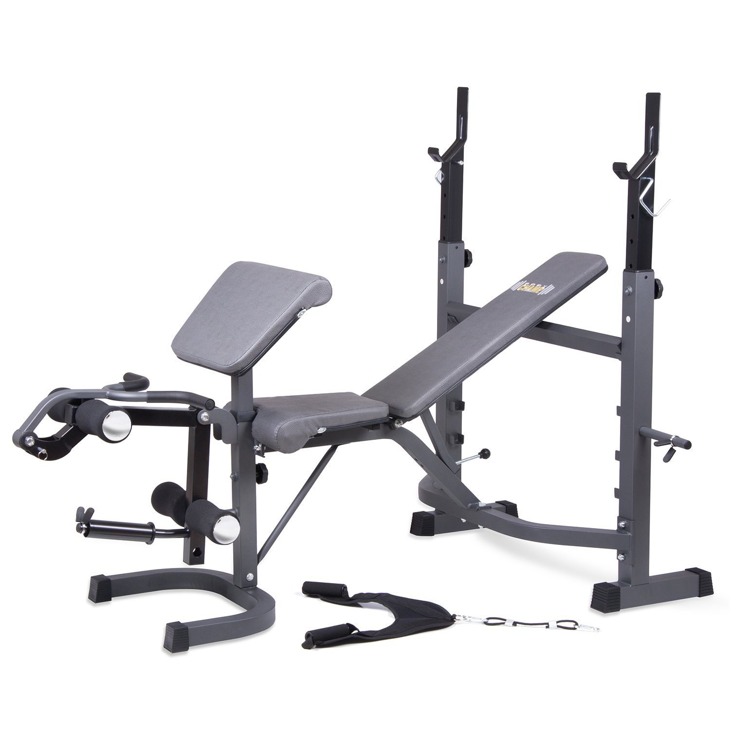 gym height mid ip weight width bench benches ancheer com adjustable fitness walmart olympic professional home arms