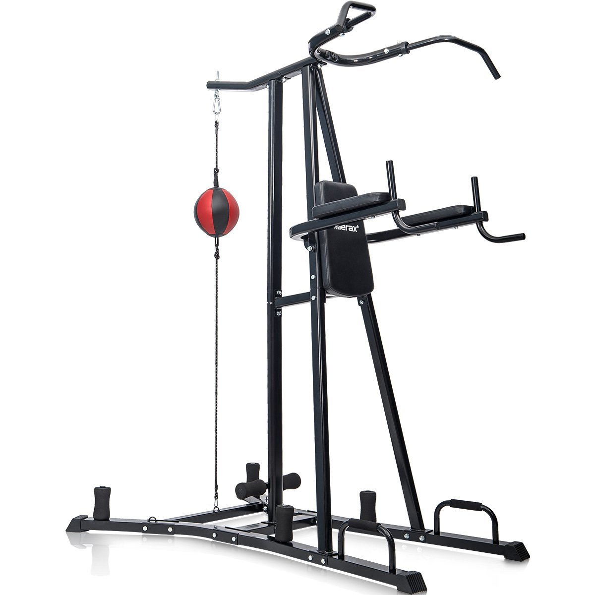 merax boxing power tower combo home fitness workout. Black Bedroom Furniture Sets. Home Design Ideas