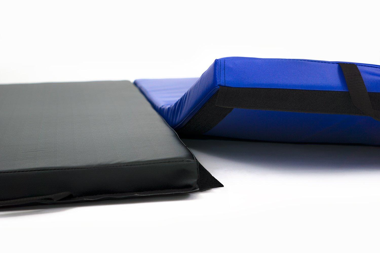gymnastic p folding landing asp mat mats vented x crash