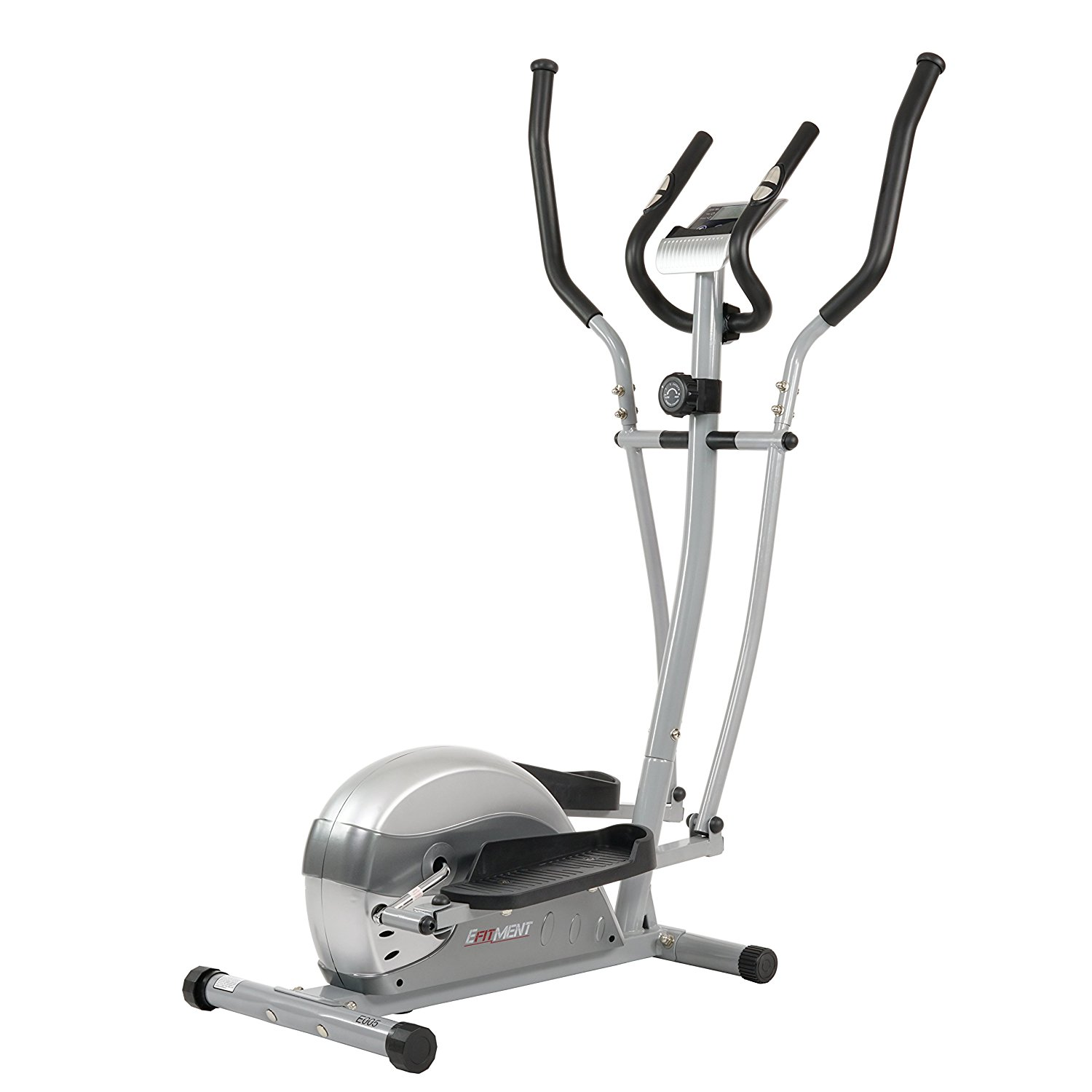 Compact Magnetic Elliptical Machine Trainer With LCD