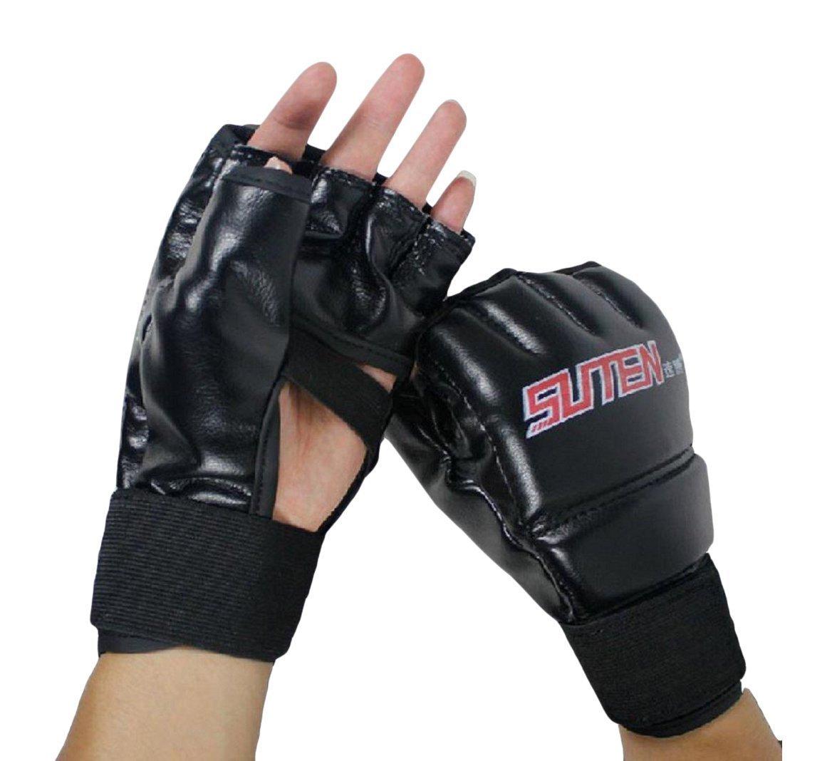 SUTEN MMA Muay Thai Training Punching Bag Half Mitts